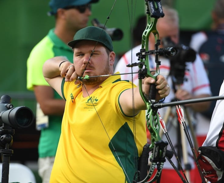 Milne wins first archery medal in three decades
