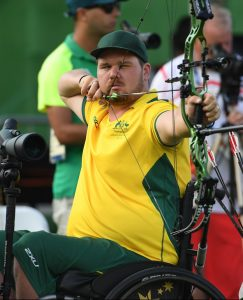 Jonathon Milne (AUS) - Men's Individual Compound - Open Archery - September 10, 2017 Sambodromo, Rio de Janeiro, Brasil (Brazil) Courtney Crow / Sport the library