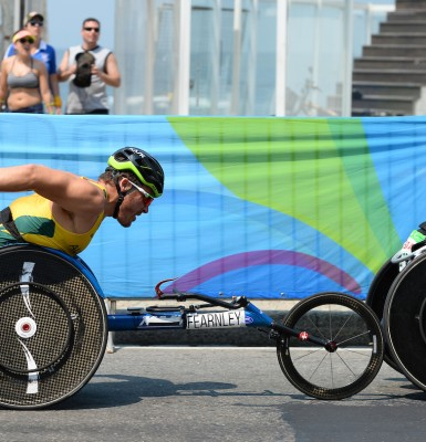 Fearnley bows out with Paralympic silver