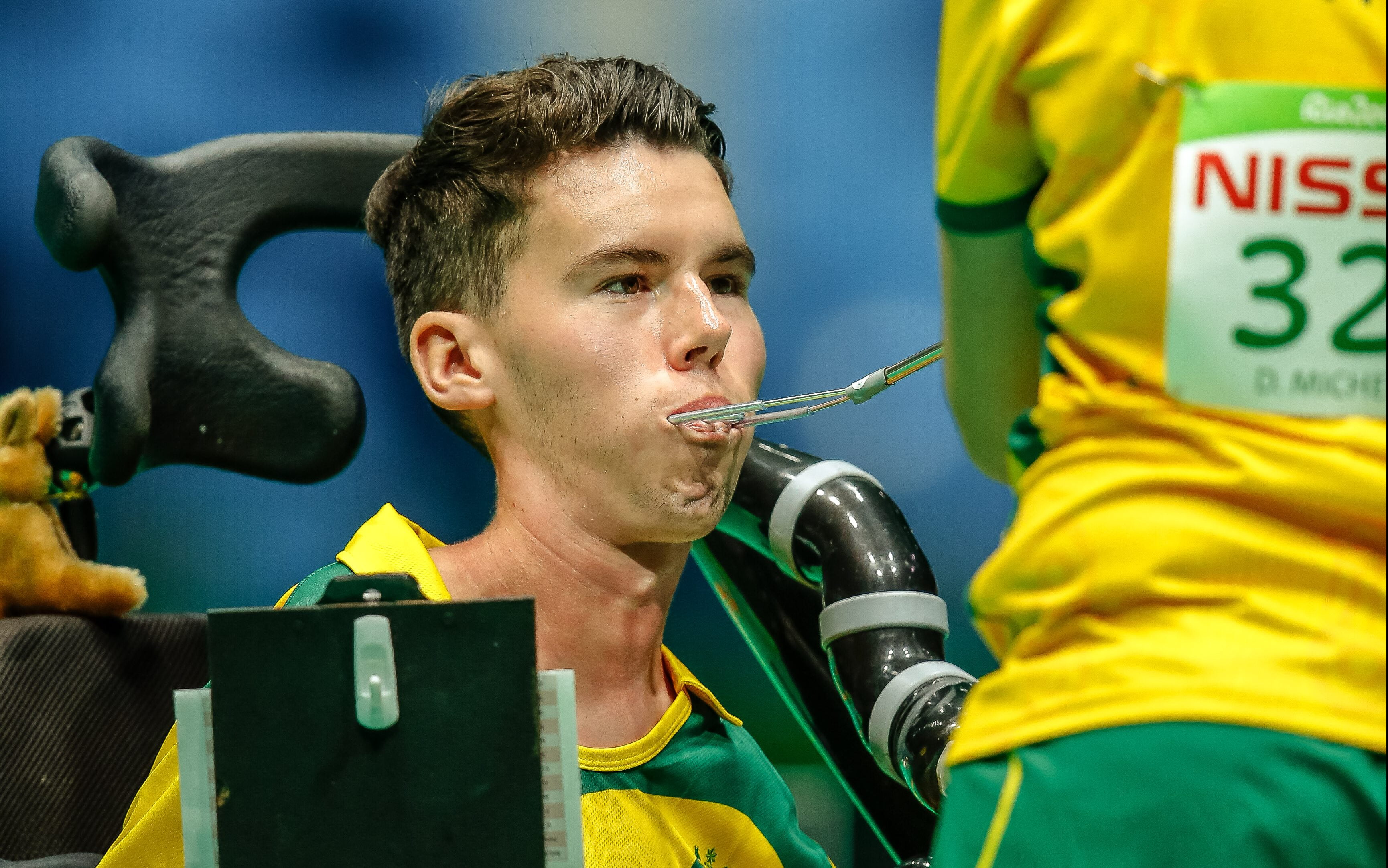 Australian boccia athlete knocked out of competition