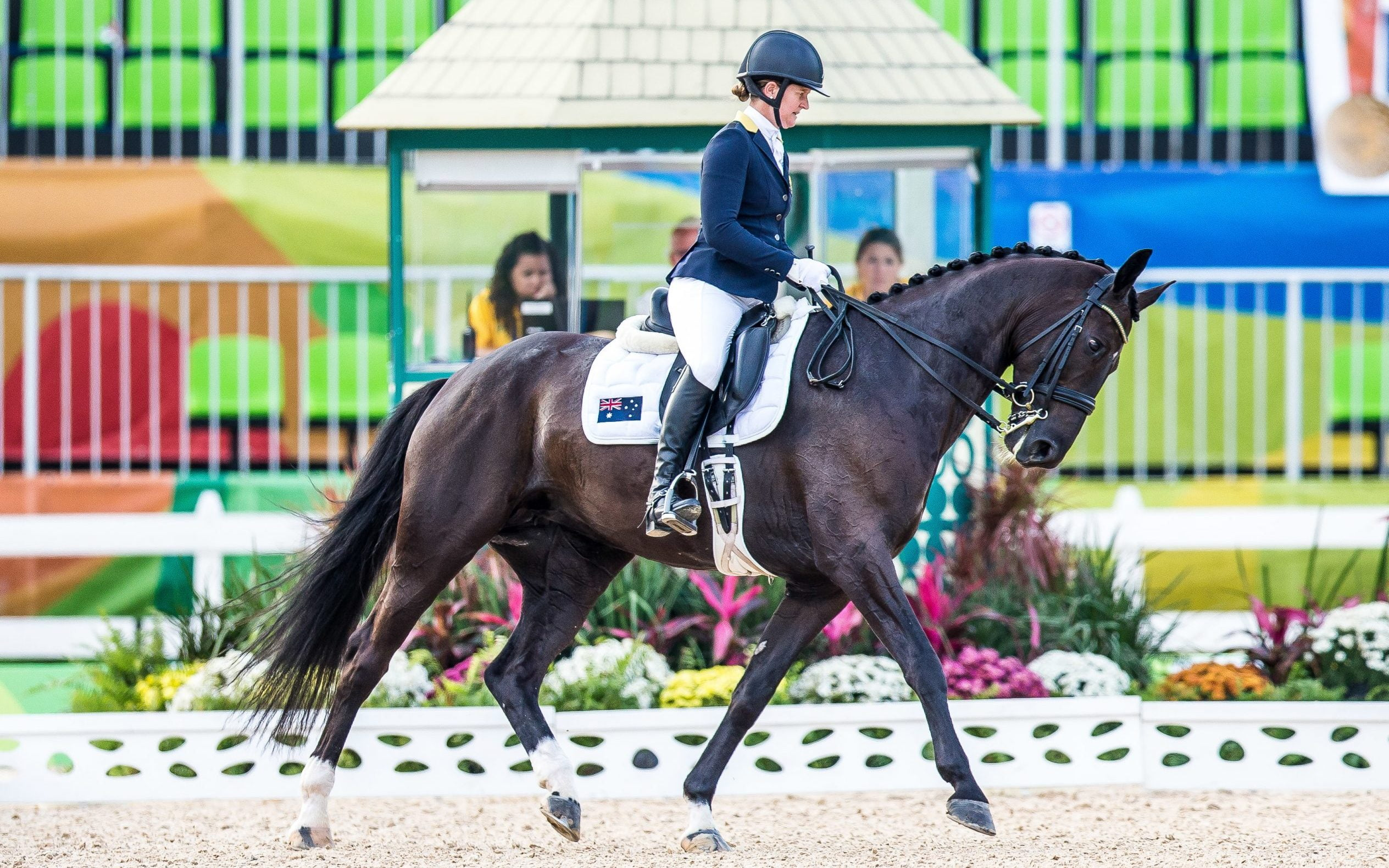 Fireworks spook Australian Paralympic equestrian team