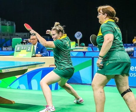 Table tennis team falls short of bronze