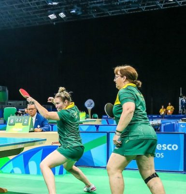 Table tennis team falls short of bronze
