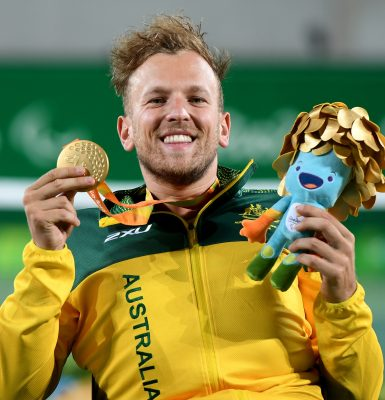 Alcott crowned Paralympian of the Year