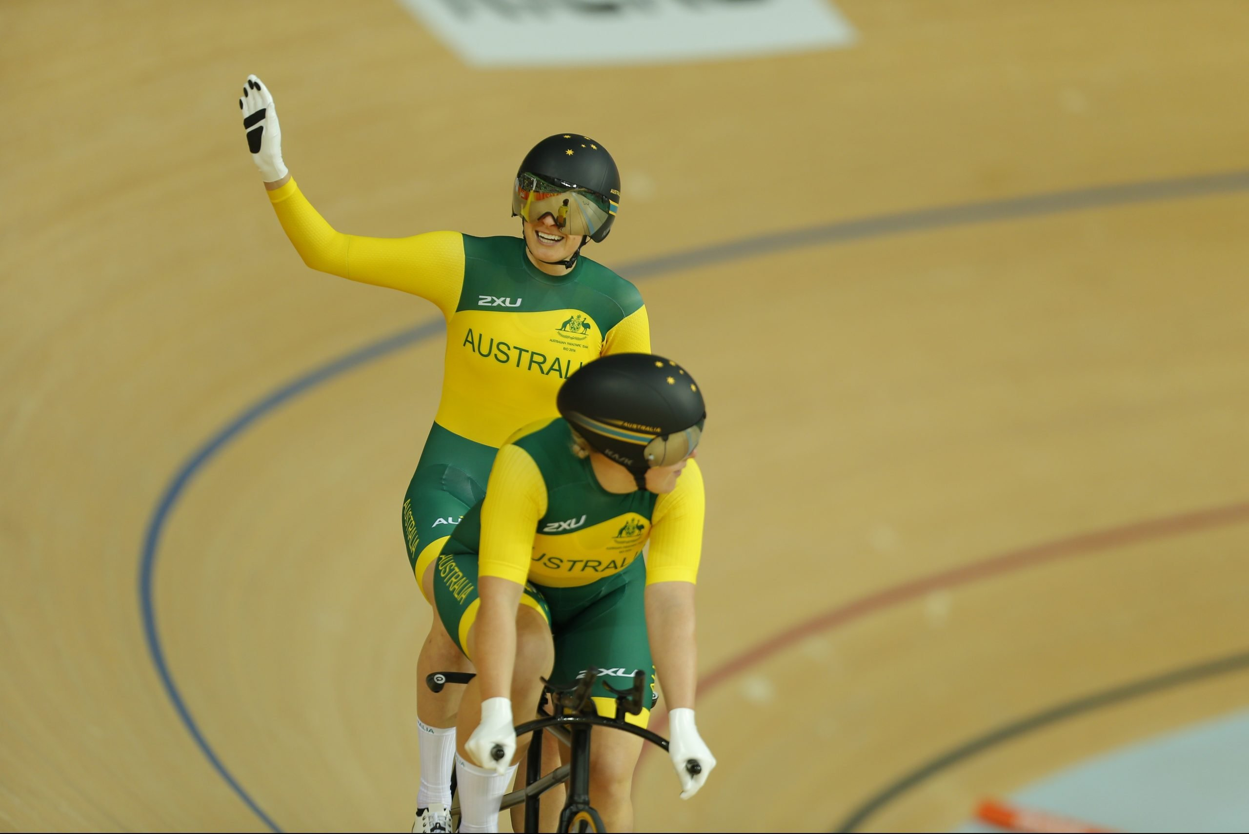 VIS seeking expressions of interest track cycling tandem pilot (female) and vision impaired athlete (male)