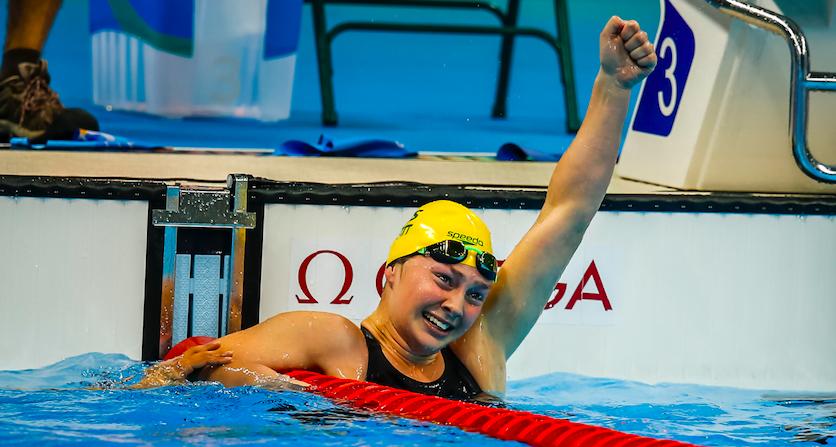 Paralympic golden girl Maddison Elliott picks up Female Athlete of the Year