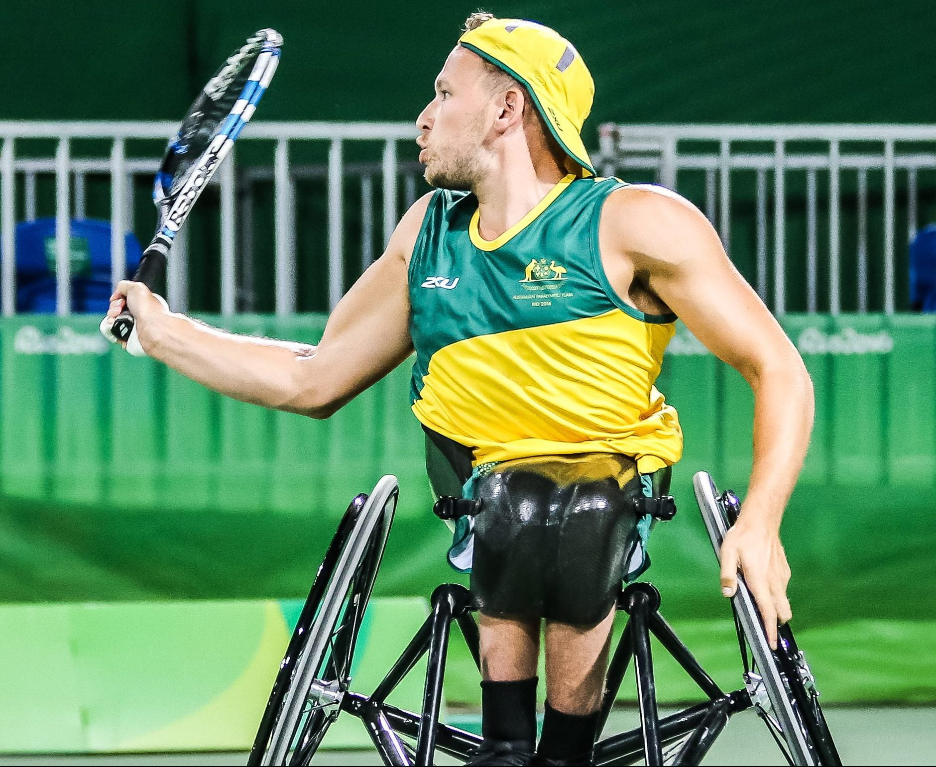 Paralympian of the Year Alcott leads wheelchair field