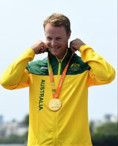 Curtis McGrath – Men's KL2  GOLD Medal Olympic Stadium / Day 8 Para Canoe 2016 Paralympic Games - RIO Brazil Australian Paralympic Committee Rio Brazil   Thursday 15th September 2016 © Sport the library / Jeff Crow