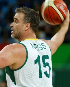 Brad_Ness_Australia vs Japan in the Men's Wheelchair Basketball Preliminary.  Carioca Arena 1 2016 Paralympic Games - RIO Brazil Australian Paralympic Committee Monday 12 September 2016 © Sport the library / Greg Smith