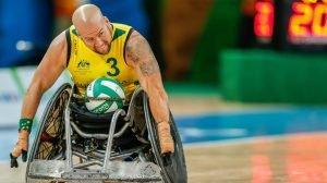 Rio 2016 - Wheelchair Rugby - Mixed Tournament - Australia v Great Britain - Ryley Batt (3)