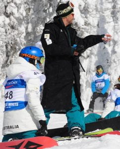 Australian Team - 2017 World Para-snowboard Championships - Big White - Banked Slalom (1)