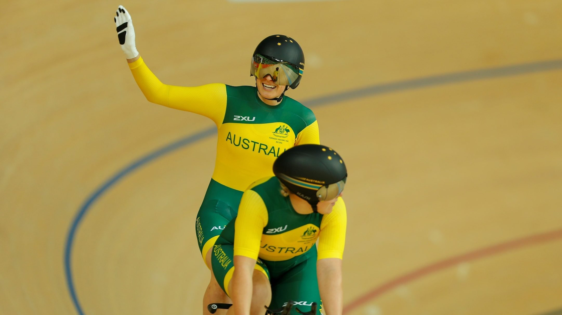 Australian Para-cycling team arrive in LA for Worlds