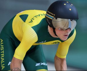 Alistair Donohoe (AUS) wins Silver in the Men's C5 4000m Individual Pursuit. Cycling- September 10, 2017 Sambodromo, Rio de Janeiro, Brasil (Brazil) Courtney Crow / Sport the library