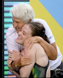 CREDIT CREDIT Delly Carr_Swimming Australia - 2017 Hancock Prospecting Australian Swimming Championships - Rachael Watson & Dawn Fraser (1)