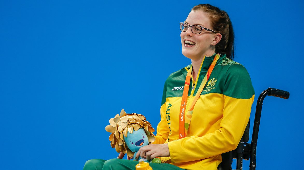Rio gold and now a world record for Rachael Watson
