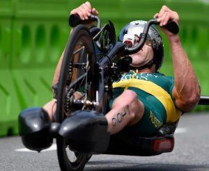 Bill Chaffey (AUS) PT1 Class Olympic Stadium / Day 3  Para-Triathlon 2016 Paralympic Games - RIO Brazil Australian Paralympic Committee Rio Brazil  Saturday 10 September 2016 © Sport the library / Jeff Crow