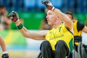 Rio 2016 - Wheelchair Rugby - Mixed Tournament - Australia v Great Britain - Jason Lees (1)