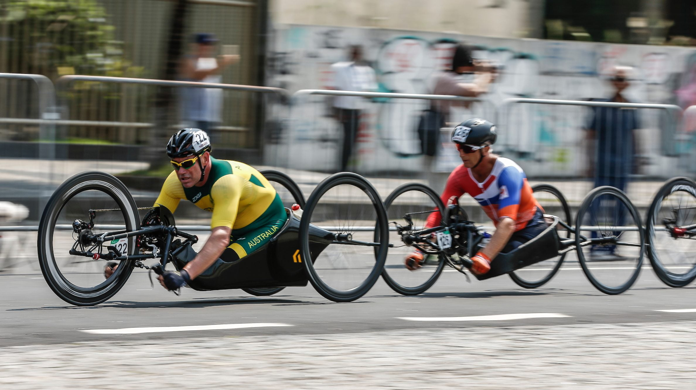 11 medals at the Ostend Para-cycling Road World Cup