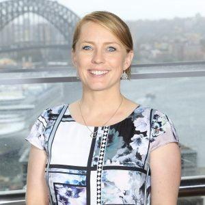 A close-up image of Kate Mcloughlin