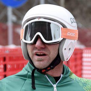 Image of Australian Paralympian Mark Soyer in ski helmet and gloves