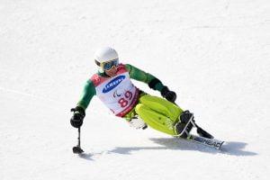 Image of Mark Soyer skiing