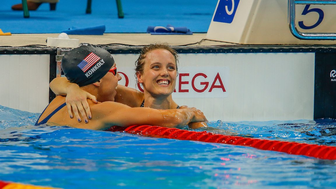 Practise makes perfect for Para-swimmers in Indianapolis