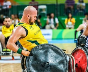 Australia wins the Gold medal in a brilliant and hard fought game with the United States of America on Day 11 at Carioca Arena 1. 2016 Paralympic Games - RIO Brazil Australian Paralympic Committee Sunday 18th September 2016 © Sport the library / Drew Chislett