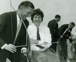 DCeeney1962 Commonwealth Paraplegic Games_Archery1