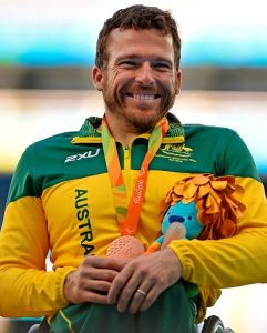 Kurt Fearnley (AUS) 5000m T54 - Bronze Olympic Stadium / Day 4 Athletics 2016 Paralympic Games - RIO Brazil Australian Paralympic Committee Rio Brazil  Sunday 11 September 2016 © Sport the library / Jeff Crow