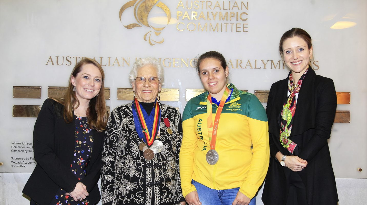 Indigenous Paralympians recognised for NAIDOC week