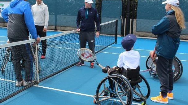 Tennis Australia increases support for wheelchair tennis