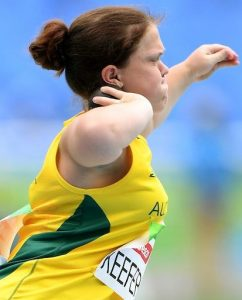 Claire Keefer (AUS) Bronze - Shot Put F41 Olympic Stadium / Day 2 / Aths 2016 Paralympic Games - RIO Brazil Australian Paralympic Committee Rio Brazil  Friday 9 September 2016 © Sport the library / Jeff Crow