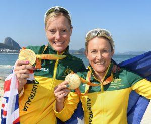 Rio 2016 - Triathlon - Women's PT5 - Michellie Jones & Katie Kelly (1)