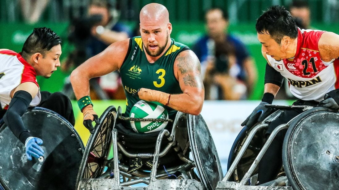 Australia's wheelchair rugby big guns ready to fire
