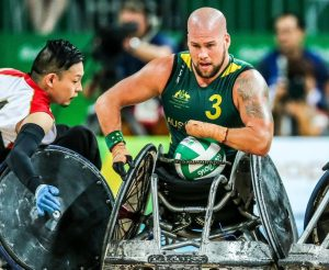 Australia played Japan in a tough match but were able to maintain a lead the whole game and claim victory on Day 10 at Carioca Arena 1.  2016 Paralympic Games - RIO Brazil Australian Paralympic Committee Saturday 17th September 2016 © Sport the library / Drew Chislett