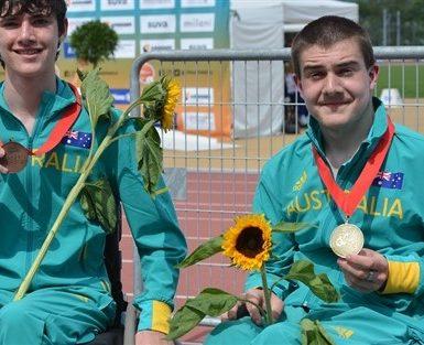 20-medal haul for Team Australia at Junior Worlds