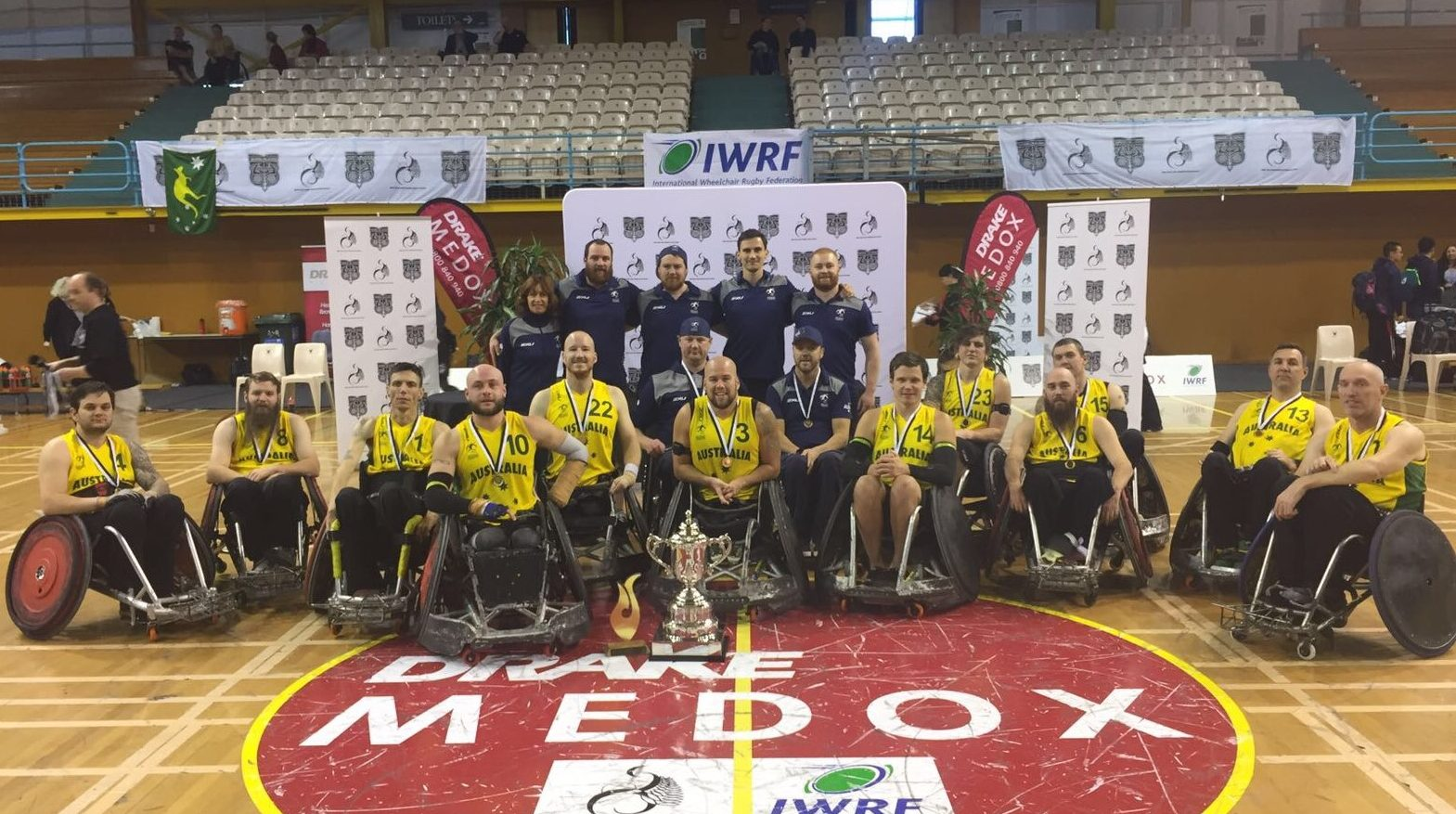 Australia's wheelchair rugby reign in Asia Oceania continues