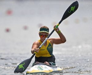 Jocelyn Neumuller – Women's KL1 Olympic Stadium / Day 7 Canoe 2016 Paralympic Games - RIO Brazil Australian Paralympic Committee Rio Brazil Wednesday 14th September 2016 © Sport the library / Jeff Crow
