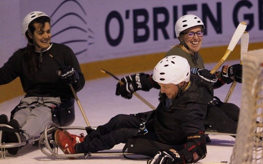 Para-ice hockey on the up as sledges arrive in Australia