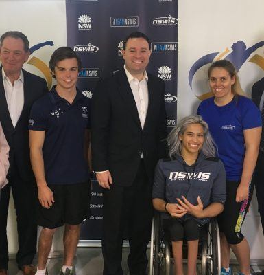Boost for top NSW Paralympians