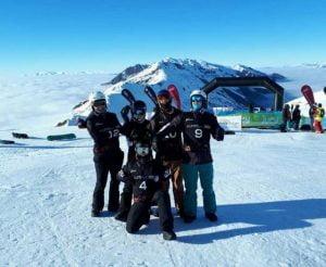 Para-snowboard squad