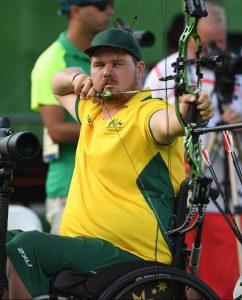 Jonathon Milne (AUS) - Men's Individual Compound - Open Archery - September 10, 2017 Sambodromo, Rio de Janeiro, Brasil (Brazil) Courtney Crow / Sport the library