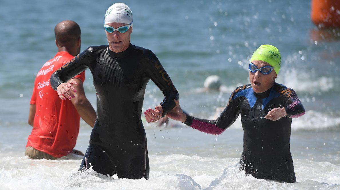 Golden day for Aussie Para-triathletes in Rotterdam
