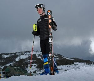 Jonty O'Callaghan / Athlete Australian Paralympic Committee 2017 Winter Alpine training camp for  2018 Pyeongchang South Korea Paralympics Jindabyne / Perisher Ski resort  NSW / August 14-18th 2017 © Sport the library / Jeff Crow