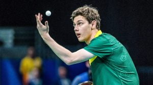 Samuel von Einem takes home the silver medal in a hard fought match in mens table tennis on day 5 at Riocentro Pavillion 3. 2016 Paralympic Games - RIO Brazil Australian Paralympic Committee Monday 12th September 2016 © Sport the library / Drew Chislett