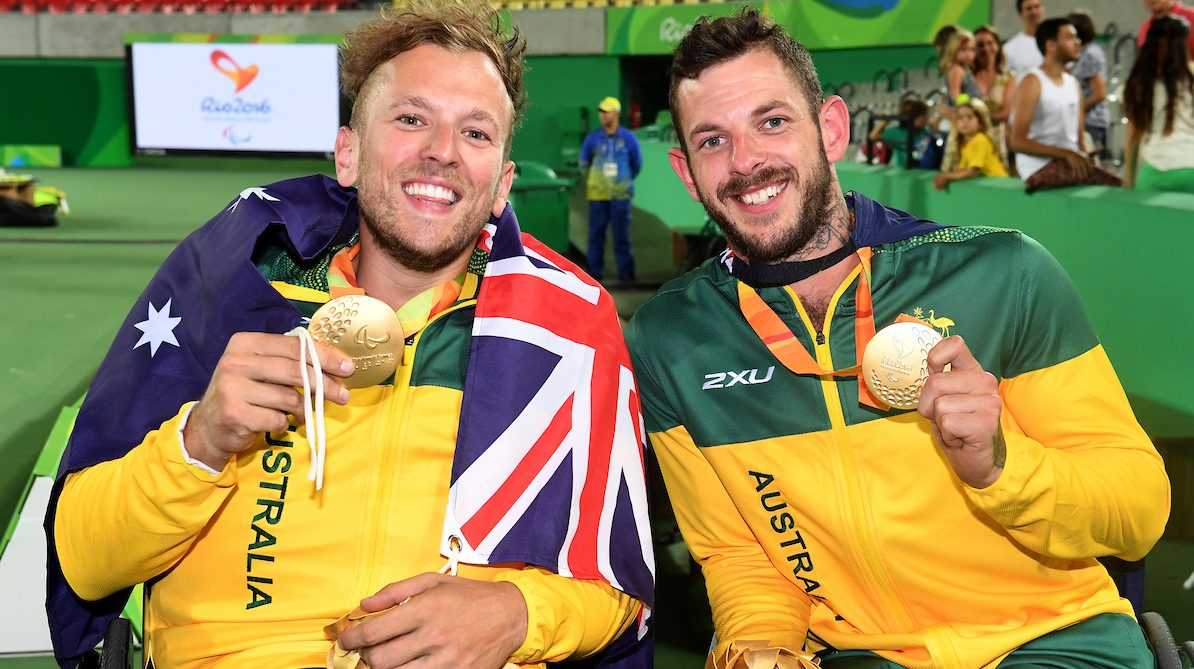 Alcott and Davidson qualify for Wheelchair Masters