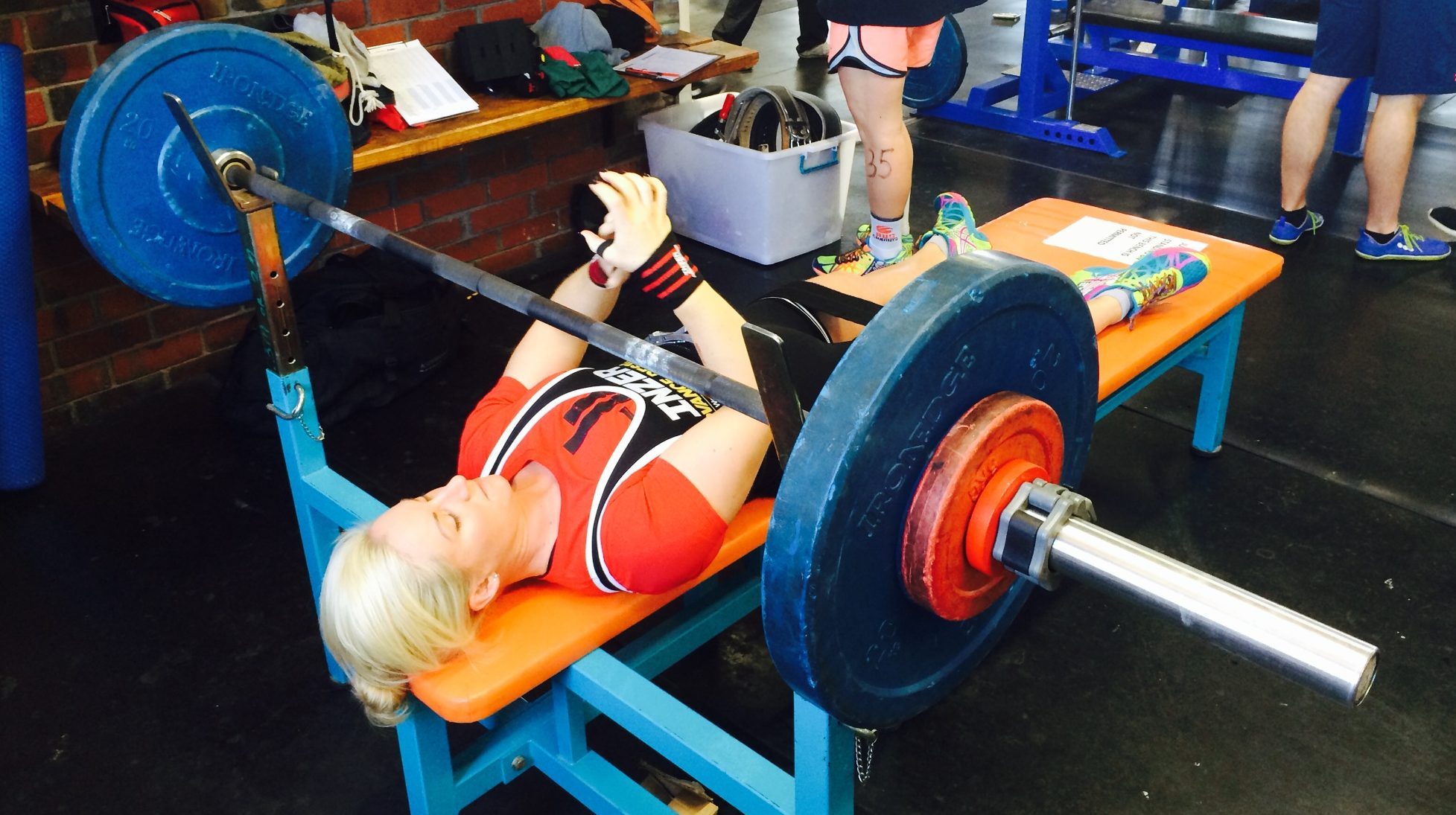 Every lift is worth the weight for Jessica Gray