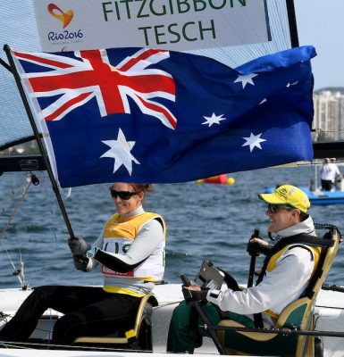 Fitzgibbon and Tesch to be inducted into Australian Sailing Hall of Fame