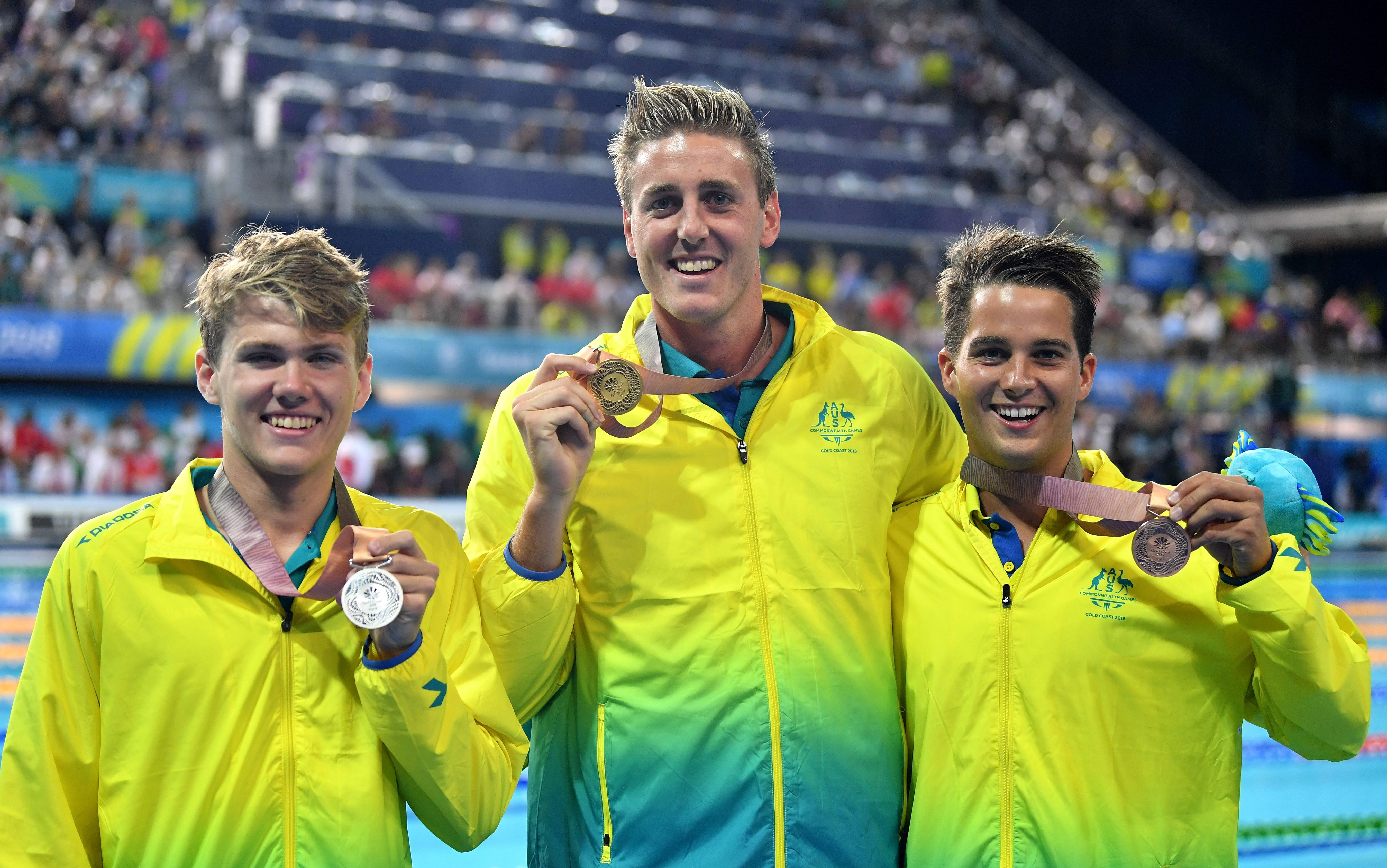 Para-swimmers complete Gold Coast gold rush