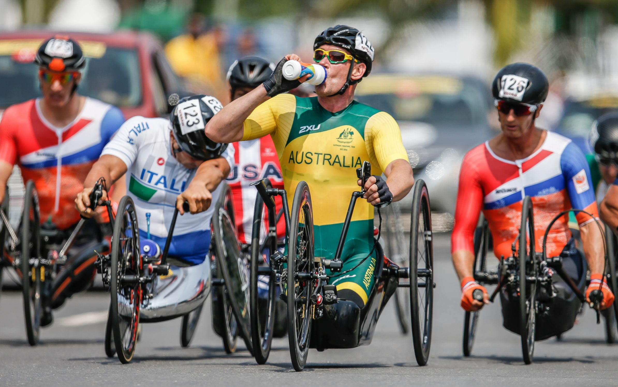 Team announced for 2018 UCI Para Road World Championships